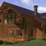 Yellowstone Floor Plan Summit Log And Timber Home