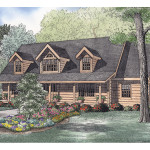 Yellowstone Point Log Home Plan House Plans And More