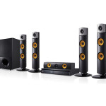 Blu Ray Home Theatre System Black Details