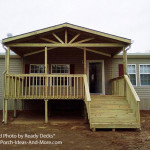 Building Small Porch For Mobile Home Design