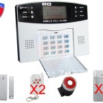 Home Intelligent Mobile Call Gsm Alarm System Auto Dial And