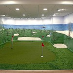 Home Putting Greens Offers Indoor Customized