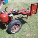 Homemade Hydraulic Log Splitter Ehow