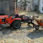 Homemade Log Splitter Description