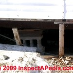 How Inspect Mobile Home Structures Part Piers Stabilizers
