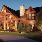 Log And Timber Homes One The Largest Most Innovative