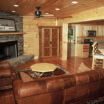 Log Cabin Highlands Series Decorating Ideas From Blue