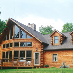 Log Home Picture Custom Builder Gingrich Builders