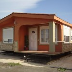 Mobile Home Model This Meters Long