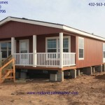Model Spec Being Installed Midland New Manufactured Home