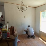 Painting Easy When You Have Two Brother Laws Willing Help