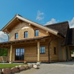 Please Contact You Wish Tour This Dovetail Log Home