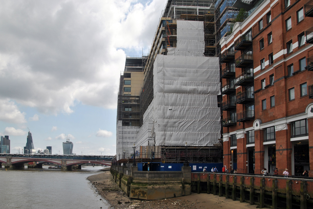 Sea Containers House Development July