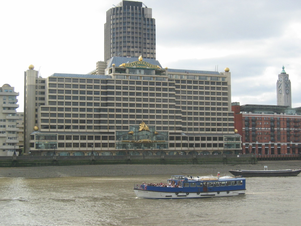 Sea Containers House Prominent Building The South Bank