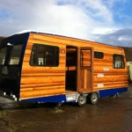 Sumaya Mobile Home Trailer Dan Mcmahon Phil Duloy Cedar Wood