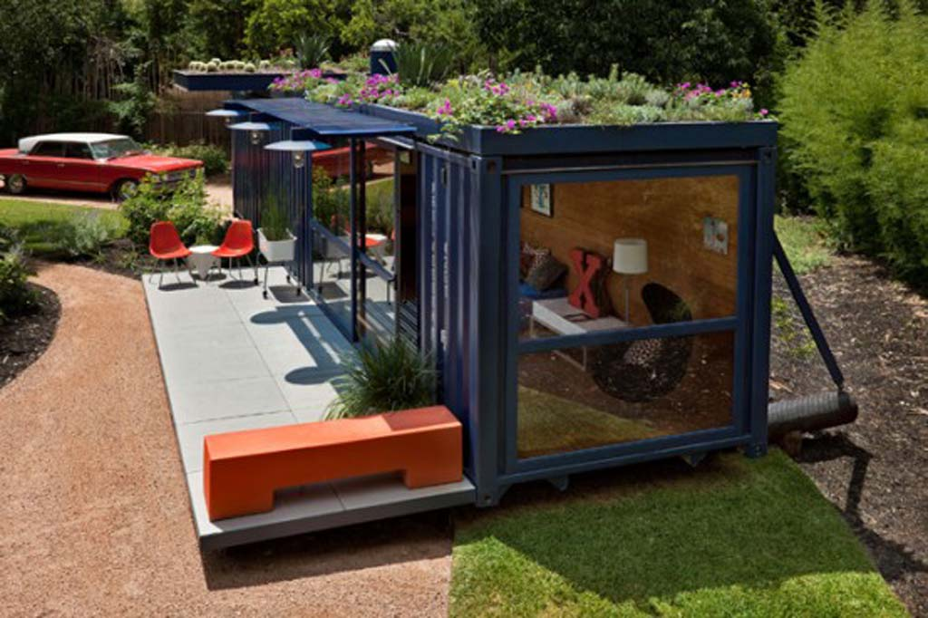 Unusual Container House Modern Guest