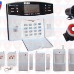 Wireless Home Security Alarm System Intelligent Mobile Call Gsm