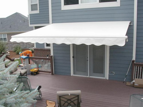 Add Decorative Touch Your House Installing Mobile Home Awnings