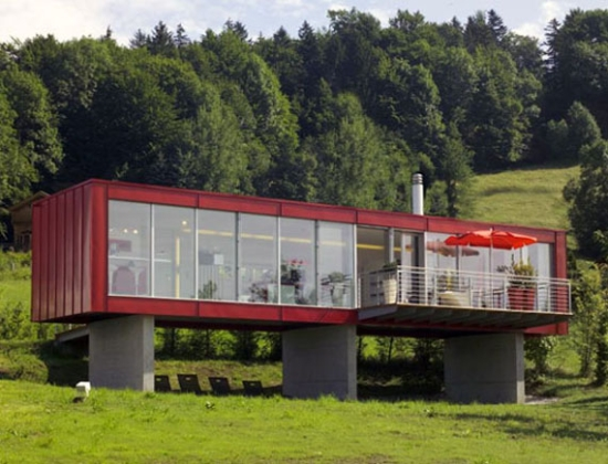Amazing Homes Made From Shipping Containers