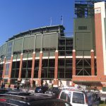 April And Packers Fans Are Tailgating Lambeau Wtmj