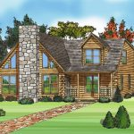 Architecture Awesome Modular Log Home Plans Sketch Stone