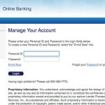 Bank Home Mortgage Login Page