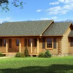 Bay Minette Log Home Cabin Plans