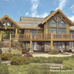 Cheyenne Floor Plan Wisconsin Log Homes