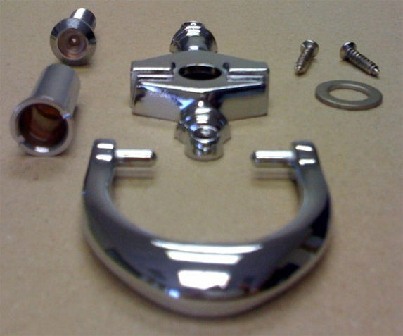 Chrome Door Knocker Viewer For Mobile Home Manufactured Housing
