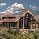 Cumberland Log Home Floorplan