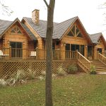 Custom Log Home Cabin Structures