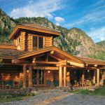 Custom Luxury Log Home Plans For Country Style Sensational
