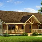 Danbury Log Home Cabin Plans
