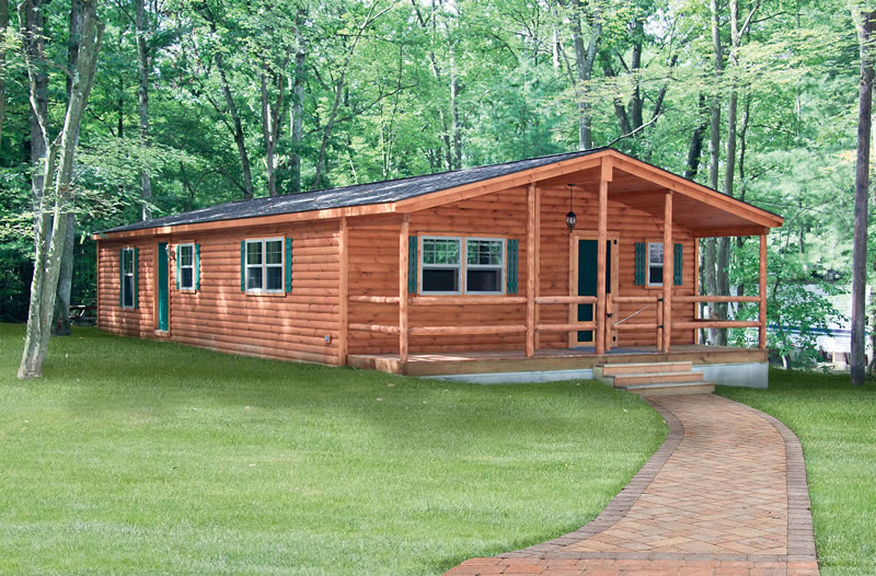 Double Wide Log Cabins