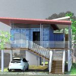 Entry Shipping Container Home Surprisingly Small And