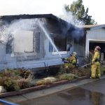 Fast Moving Fire Guts Orcutt Mobile Home April