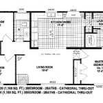 Floor Plans For Double Wide Manufactured Homes