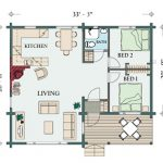 Floorplan Brown Cabin