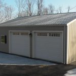 Garages And Workshops Available All Steel Hybrid Packages