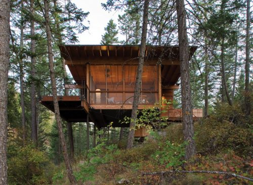 Graceful Modular Log Cabin Homes