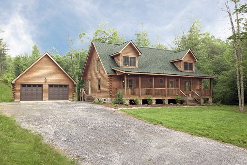 Great Mountain Log Home Lease Purchase