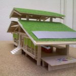Green House Design Three Roof