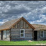 Hdr Old Log Home