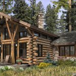 Home Architecture Luxury Log Plans For Bold Natural Image