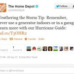 Home Depot Hurricane Command Center Springs Into Action For Isaac