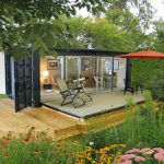 Houses Built From Shipping Containers Garden Design