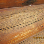 Intensified Wood Restoration Llc Has Log Homes Under Our Home