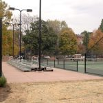 Justice William Mcanulty Tennis Center George Unseld Courts