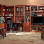 Living Entertainment Library Wall System