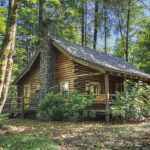 Log Cabin Timberline Rim Hood Home